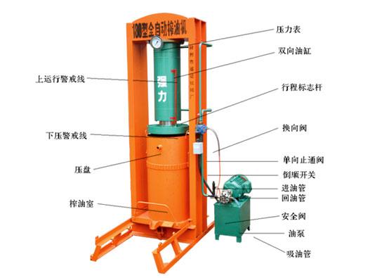 QL180xingquan自动榨油机